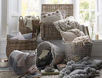 The Basket Company Offers A Wide Selection Of Wicker Baskets And Katie Jane Home Has Lovely Range Beautiful Accessories